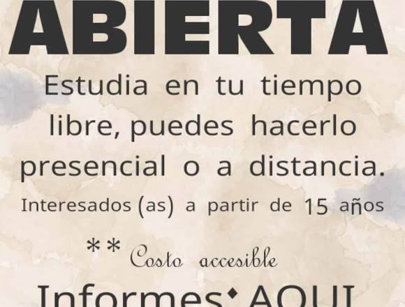 CERTIFICADO  DE   BACHILLERATO  EN  6  MESES.