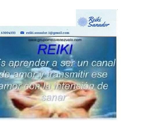 Sanación con terapia de REIKI