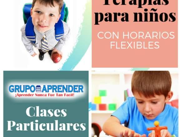 TERAPIAS Y CLASES PARTICULARES-GRUPO APRENDER