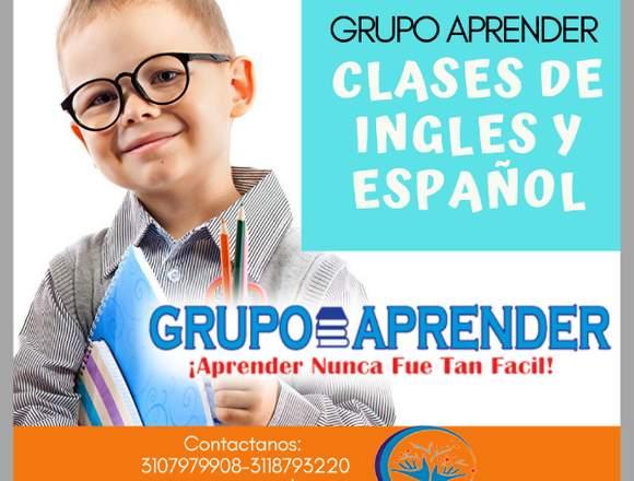 CLASES PARTICULARES-GRUPO APRENDER
