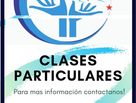 CLASES PARTICULARES-PROFESORES A DOMICILIO
