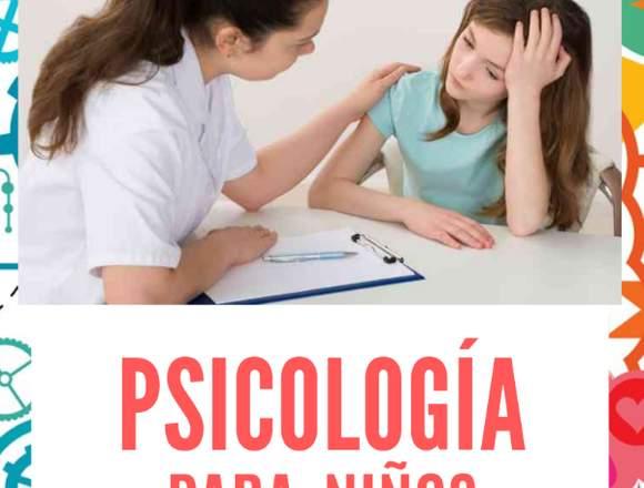 PSICOLOGÍA PARA NIÑOS A DOMICILIO