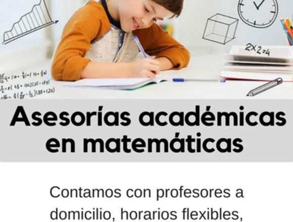 Asesorias Académicas en matemáticas para niños