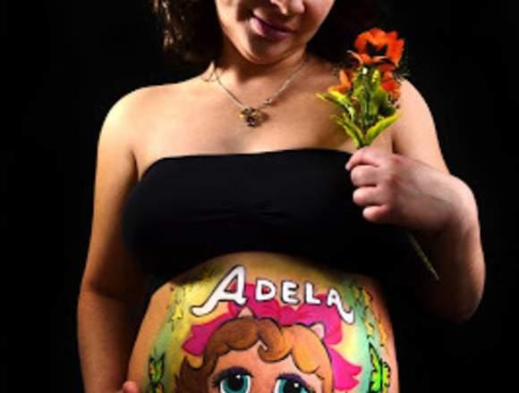 Fotografía Maternal Pancita Pintada