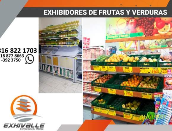 Exhibidores supermercados (Estanterías y muebles)