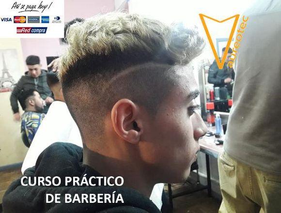 Curso Técnicas Barbería Corte Cabello, Barbershop