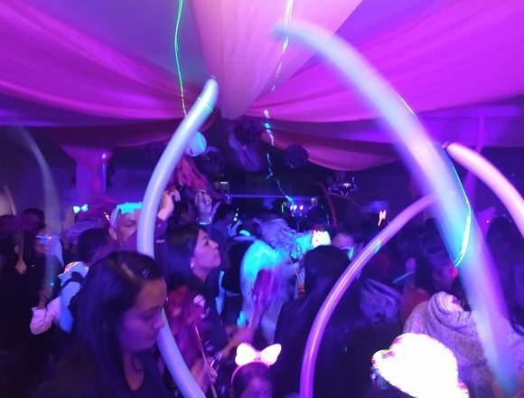 Luz y sonido, DJ, Karaoke