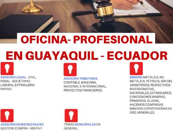 OFICINA PROFESIONAL EN GUAYAQUIL ECUADOR