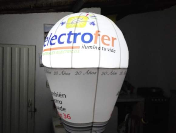 Fabricamos todo tipo de inflables publicitarios