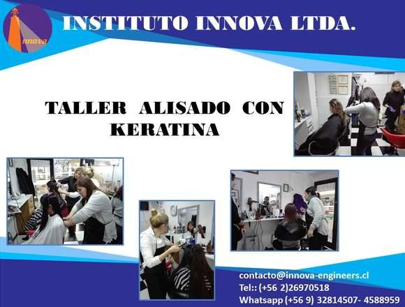 CURSO ALISADO CON KERATINA