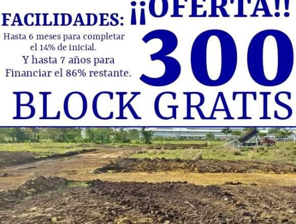 SOLARES EN VILLA MELLA MAS 300 BLOCK GRATIS