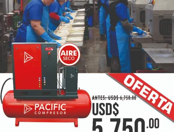 Compresoras de aire Pacific para agroexportacion