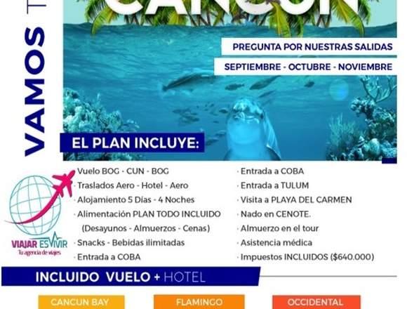 Aprovecha Cancun Promo