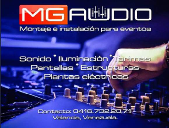 MG AUDIO SONIDO PARA TODO TIPO DE EVENTOS