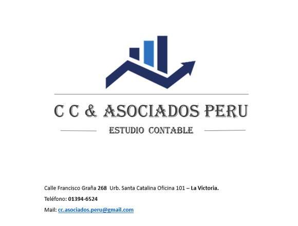 Estudio Contable CC & Asociados Perú.