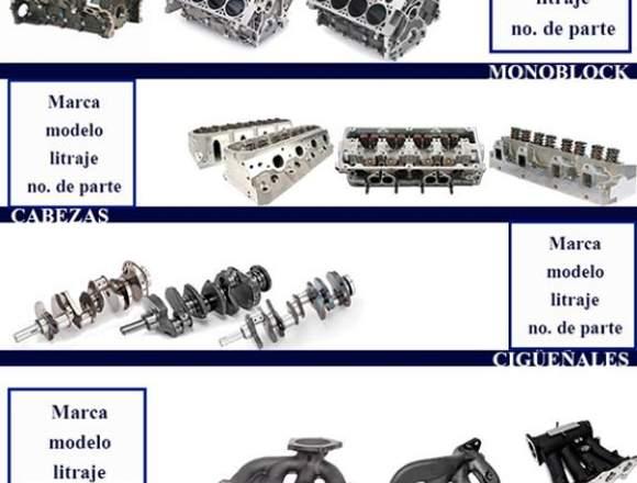 Refaccionamiento de Motor Diesel Ligero y Gasolina