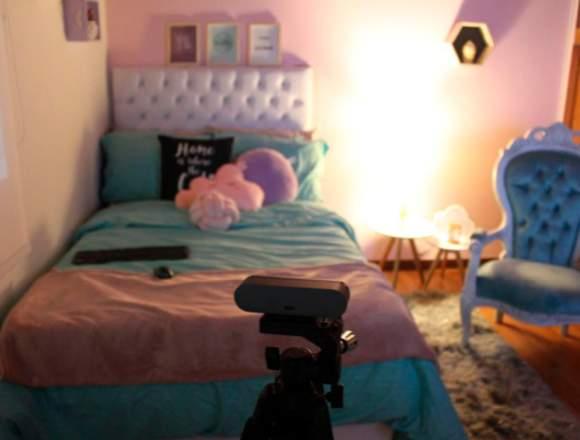Estudio web cam en Medellín