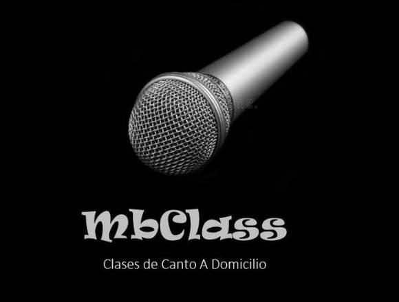CLASES DE CANTO PROFESIONAL !!