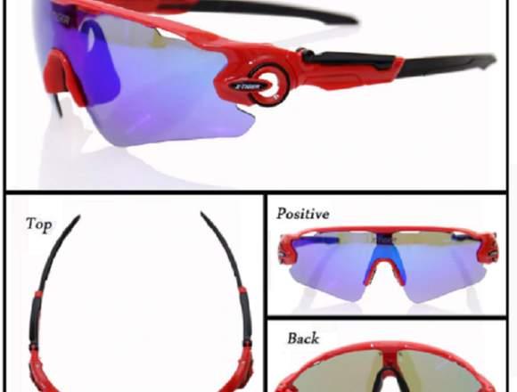 Gafas Protección Solar Ciclismo X-tiger 3 Lentes