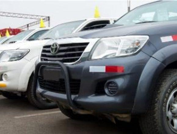 Remate directo Unidades Toyota