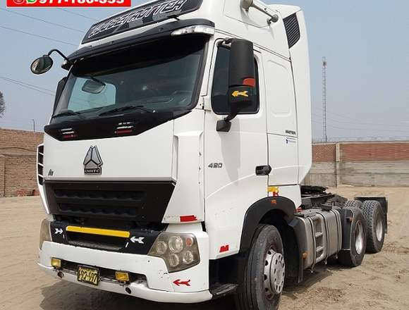 TRACTO SINOTRUCK A7 420HP Año:2012/Torton EJES.