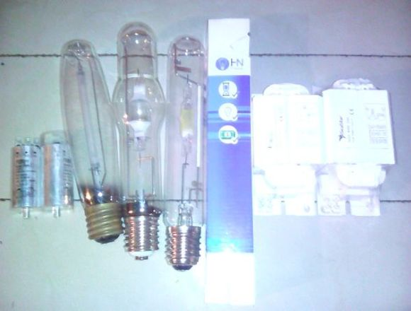 Kit de Lampara Metal Halide y Vapor de Sodio
