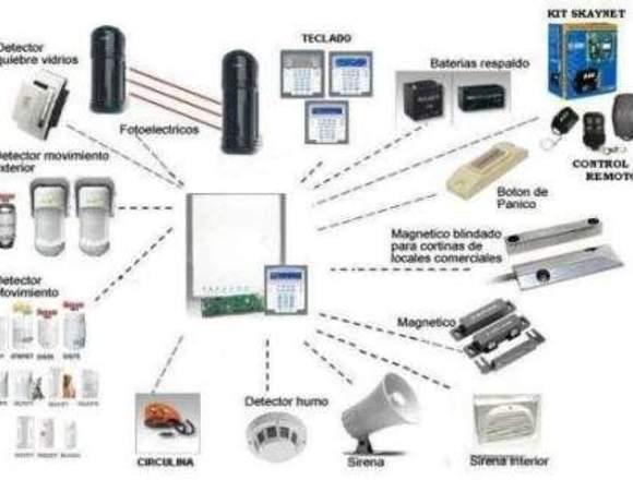 Servicio Técnico de Cámaras,Alarmas,Redes y Pc