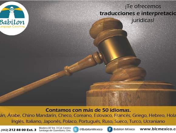 ¡Traducciones certificadas en más de 50 idiomas!