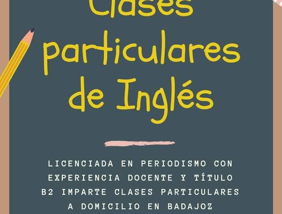 CLASES PARTICULARES DE INGLÉS SECUNDARIA Y ESO