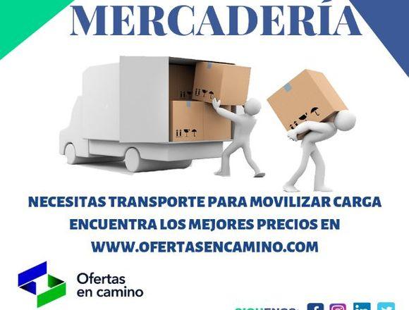 TRANSPORTE DE CARGA PARA MERCADERIA
