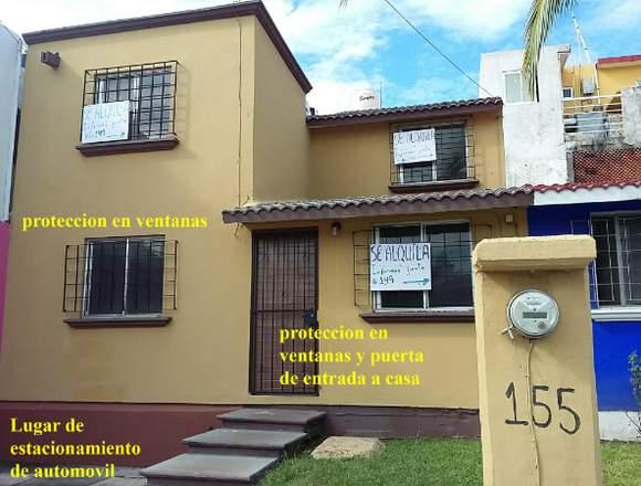 RENTO CASA Frac. HORTALIZAS puerto Veracruz