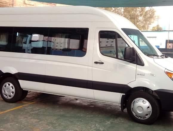 Alquilo minibús para traslados