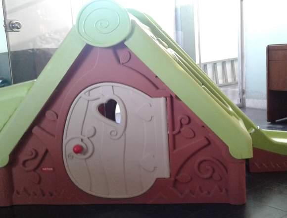 Casa de Plastico para niños