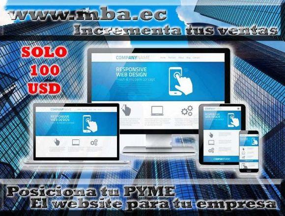 POSICIONA TU NEGOCIO: WEBSITE TU PÁGINA WEB