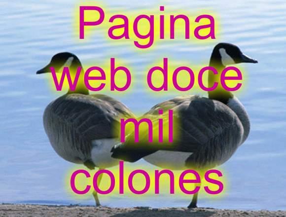 pagina web doce mil colones