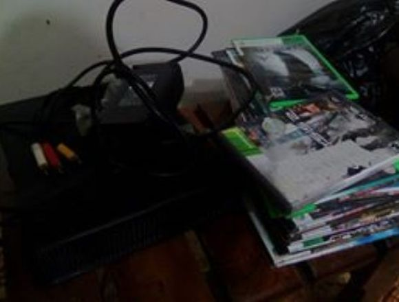 Xbox 360 Usado, juegos fisicos