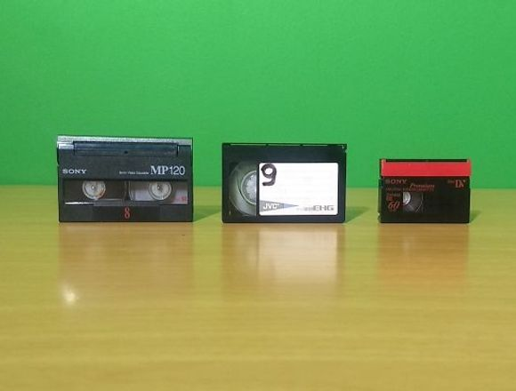 Pasar desde cintas VHS , Betmax ,VIDEO 8  a DVD