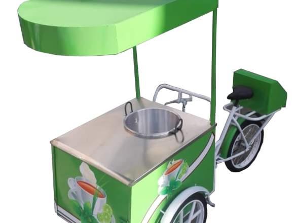 Triciclo de carga para venta ambulante