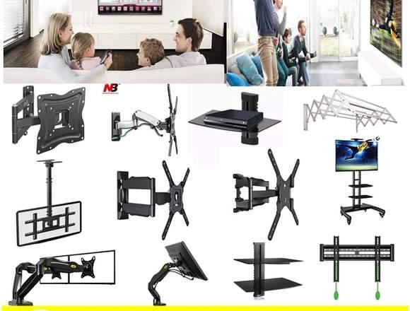 venta e instalacion soportes y bases tv