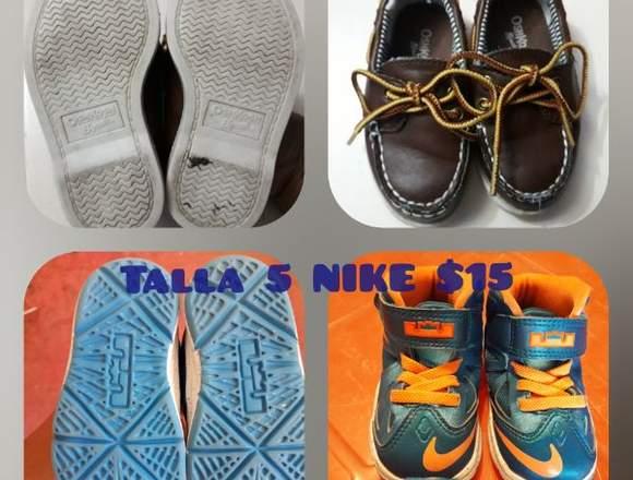 Zapatos de bebé tallas 5