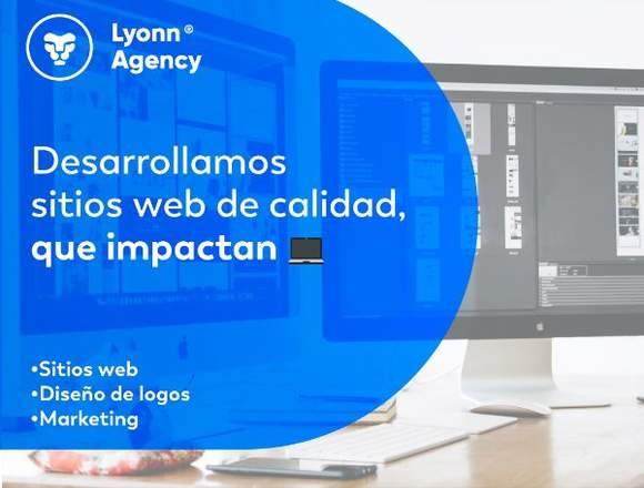 Diseño de logos, sitios web y marketing