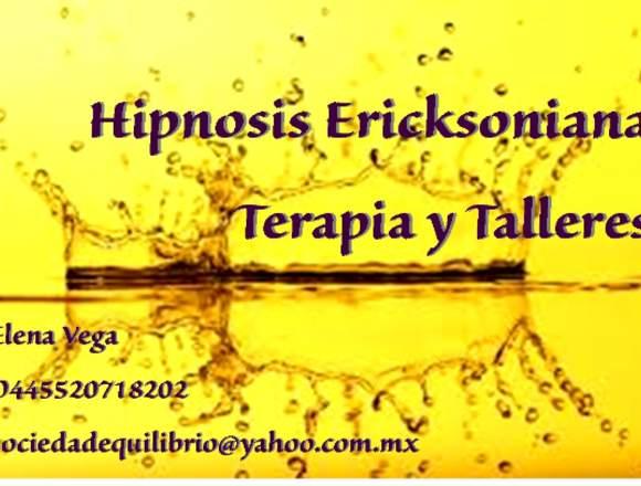 Terapia con Hipnosis Ericksoniana,