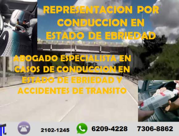 ASESORIA EN PROCESOS POR ACCIDENTES DE TRANSITO