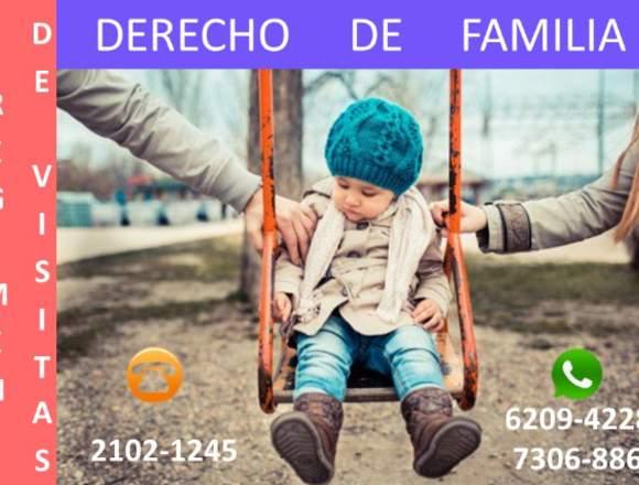VISITAS, CUIDADO Y AUTORIDAD PARENTAL DE HIJOS