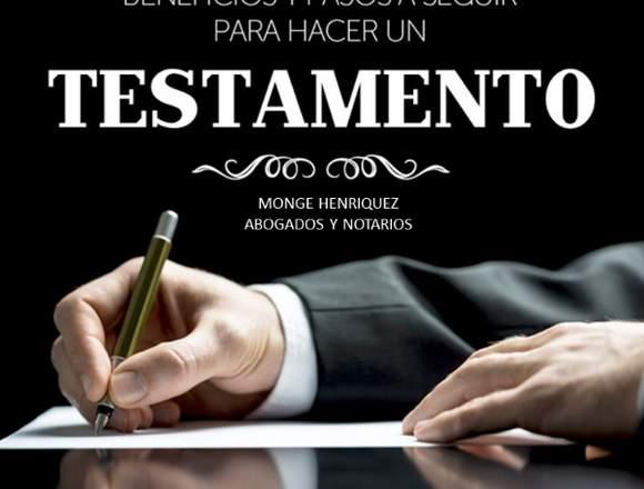 TESTAMENTOS Y ACEPTACIONES DE HERENCIAS DESDE