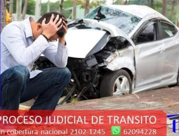ASESORIA EN PROCESOS POR ACCIDENTES DE TRANSITO