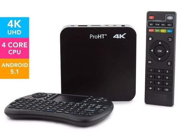 Smart Android Tv Box Proht 4k