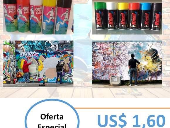 Pinturas Spray colores variados