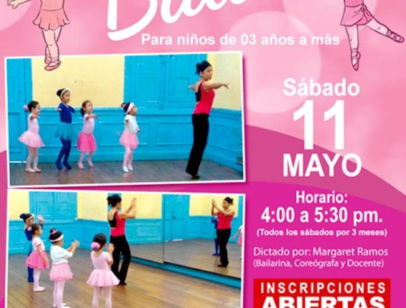 Clases de Ballet para niños de 3 años a más Lima