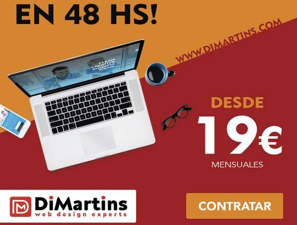 Paginas Webs - Tiendas Online - desde 19Euros